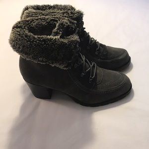 SPORTO Ankle Boots Sz 8.5 Gray ( Harley)